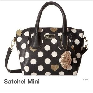 NWOT Betsy Johnson mini satchel